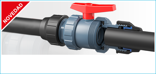 'BASIC' BALL VALVE FITTING OUTLET