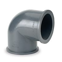 Codo 90° Netvitc System® PVC
