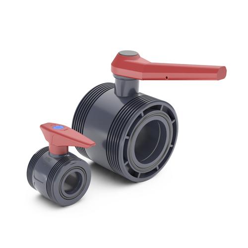 PE main body basic ball valve