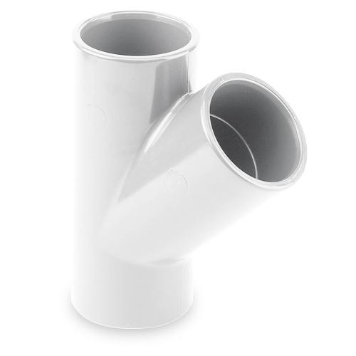 Te 45° encolar - serie blanca