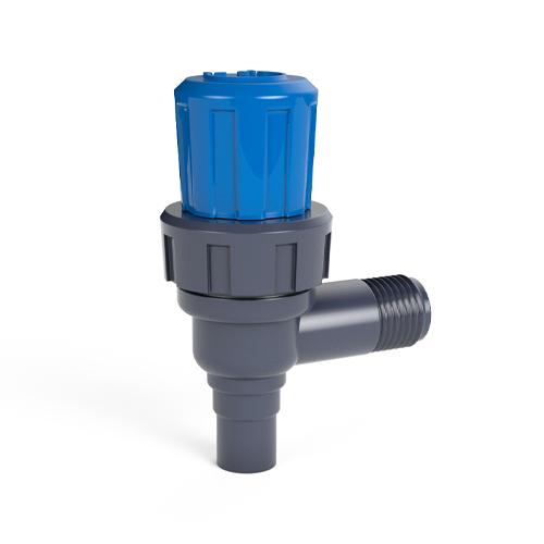 """Male threaded regulating valve, """"L"""" model"""