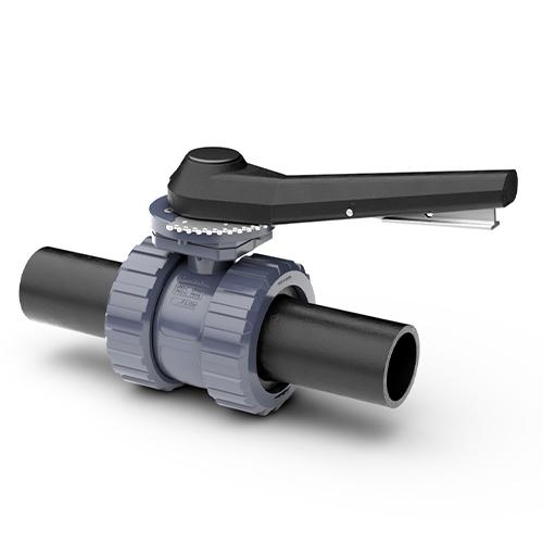 Salida termofusión - Viton - Sistema Cierre Gatillo