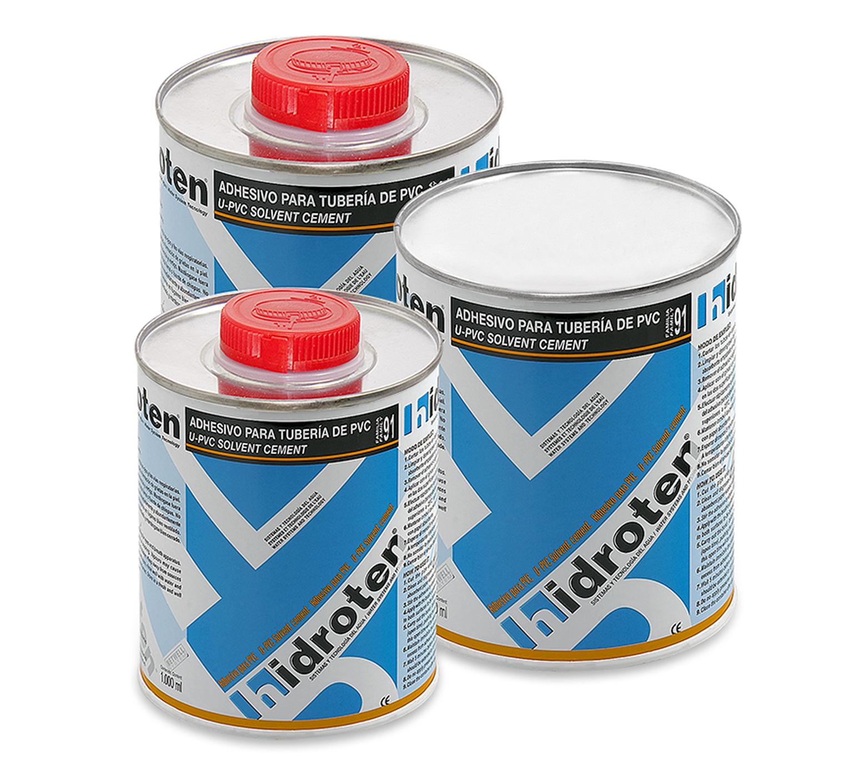 Adhesivo PVC grandes diámetros