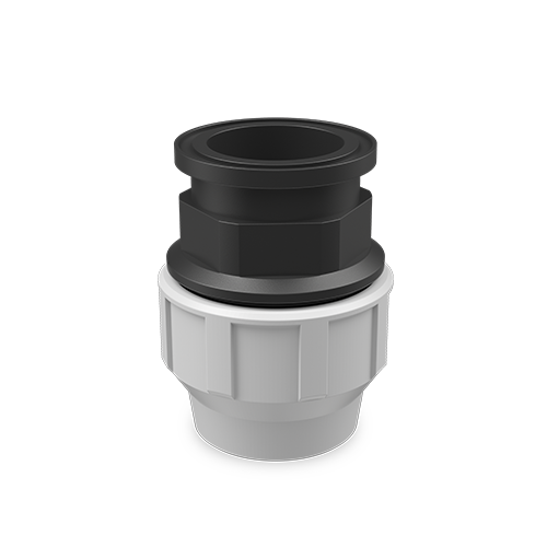 SNS® compression fitting connection