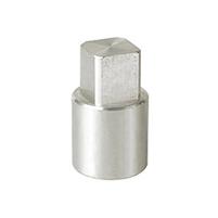 Adaptador metálico vástago-actuador