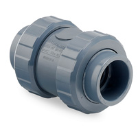 PVC check valves (with spring)