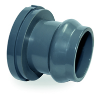 RUBBER RING PVC OUTLET