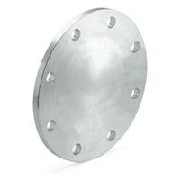 Brida ciega de acero zincado