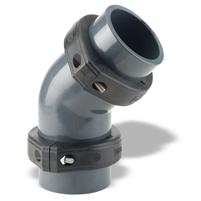 Codo 45° Netvitc System® PVC C/B