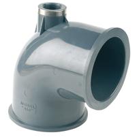 "Codo 90° Netvitc System® PVC ""AIR"" salida R/H"