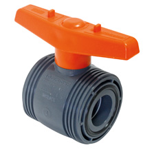 BIDIRECTIONAL BALL VALVE MAIN BODY PTFE