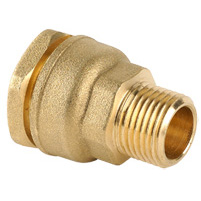 Plain/male threaded straight union - outer nut