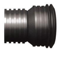 F/F reduction - black corrugated pipe