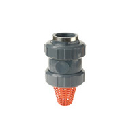 Reinforced female threaded outlet - Foot - EPDM seal