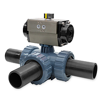 THERMO FUSION OUTLET - DOUBLE ACTING PNEUMATIC ACTUATOR - PFTE