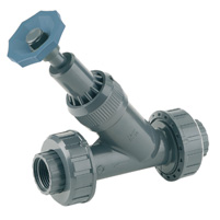Angle seat valve, female threaded outlet - EPDM seal