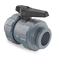 Ball valve Netvitc System® outlet VITON