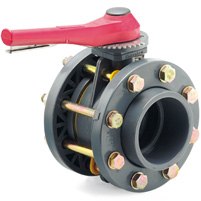 Válvula Implex® gatillo/bridas - EPDM