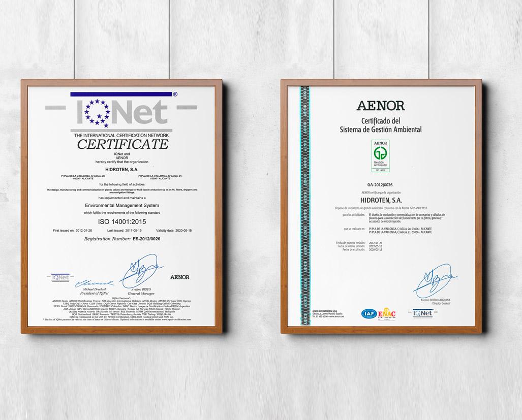 ADAPTACIÓN NORMAS ISO 9001 y 14001