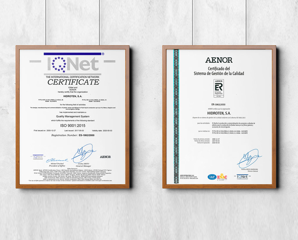 RULES ISO 9001 AND 14001