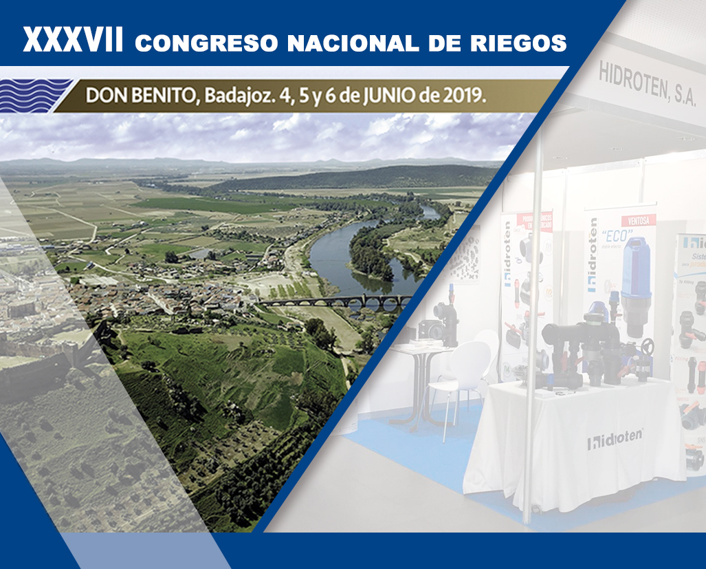 HIDROTEN AT THE XXXVII NATIONAL IRRIGATION CONGRESS