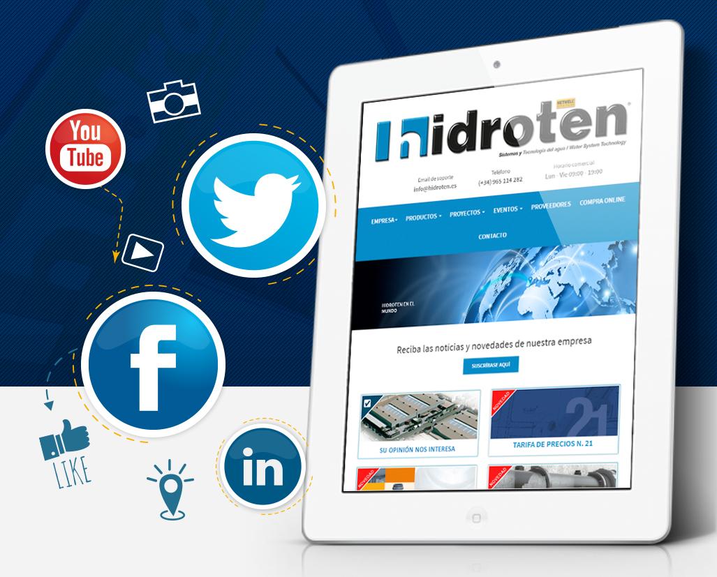 HIDROTEN ON SOCIAL NETWORKS