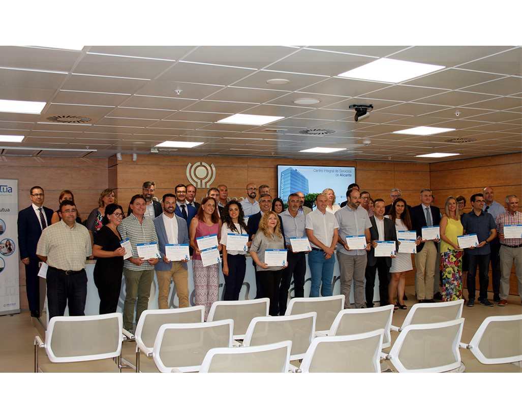 IBERMUTUA RECOGNIZES HIDROTEN FOR ITS WORK TO PREVENT WORKPLACE ACCIDENTS