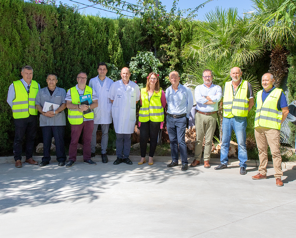 VISIT OF THE COUNCILIOR OF EMPLOYMENT AND DEVELOPMENT OF ALICANTE