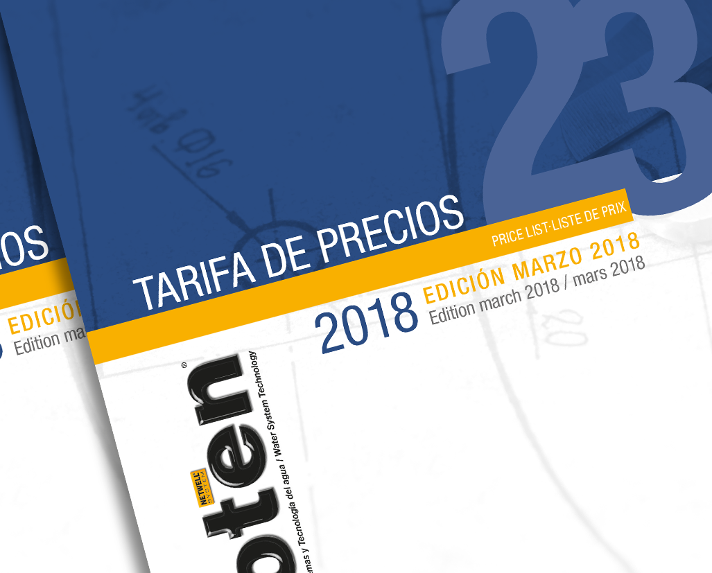 NUEVA TARIFA DE PRECIOS Nº 23