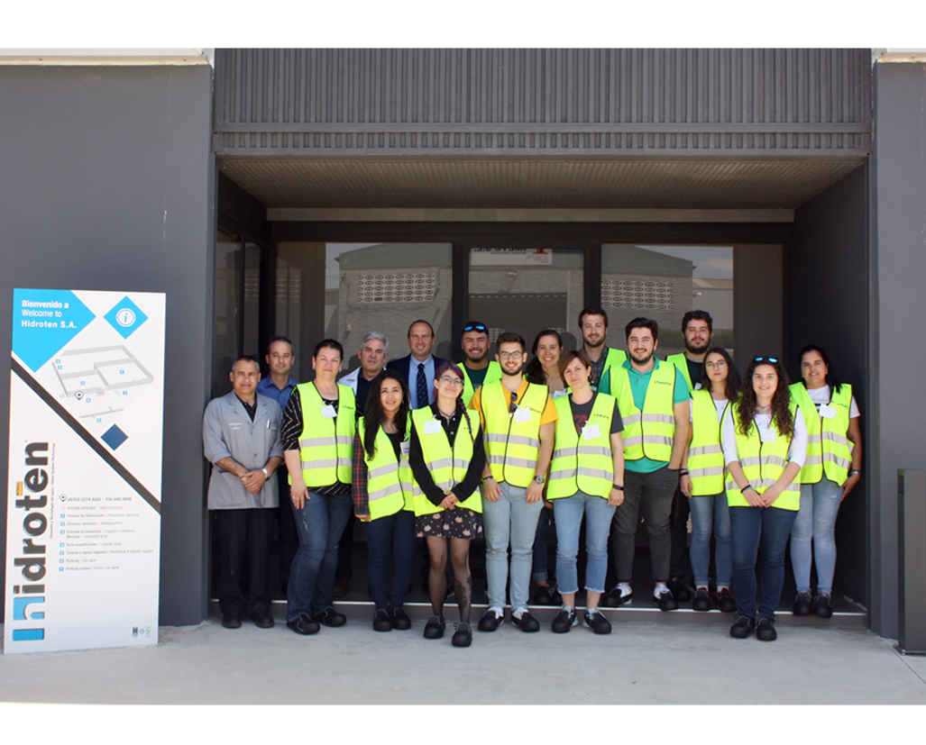 STUDENTS OF MASTER IN MANAGEMENT AND SUSTAINABLE WATER TECHNOLOGIES VISITED HIDROTEN FACILITIES