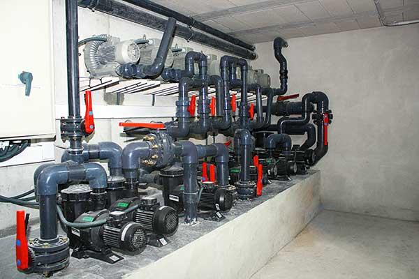 Instalación filtrado piscina Cisliano