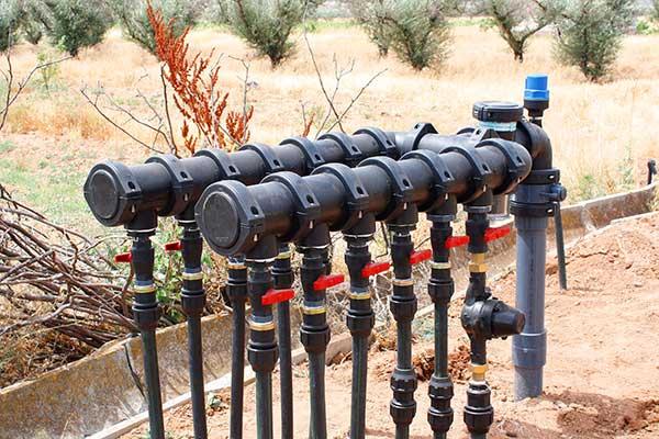 Hidrante modernización de riego