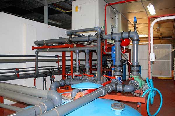 Instalación de refrigeración industrial