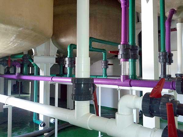 Instalación planta tratamiento aceituna