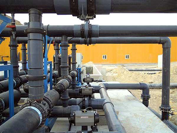 Instalación tratamiento de agua