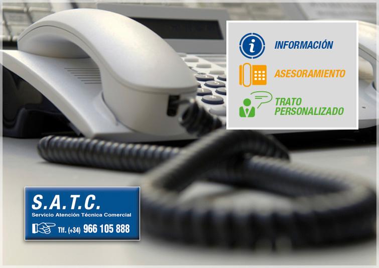 Servicio Atención Técnica Comercial (S.A.T.C)
